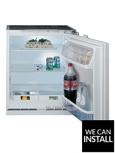 hotpoint-hla1-55cm-built-in-under-counter-fridge-with-optional-installation-white