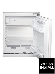 hotpoint-hfa1uk-55cm-built-in-under-counter-fridge-with-optional-installation-white