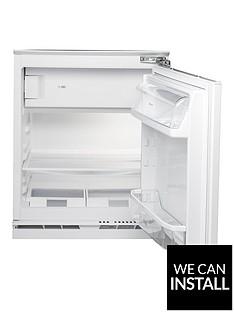 hotpoint-hfa1uk-55cm-built-in-under-counter-fridge-with-optional-installation-white