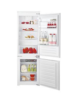 Hotpoint Day1 Hmcb7030Aa 177Cm High, 55Cm Wide Integrated Fridge Freezer - Fridge Freezer Only Best Price, Cheapest Prices