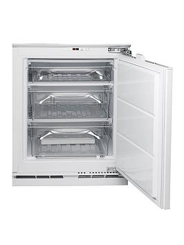Hotpoint Aquarius Hza1 60Cm Wide Integrated Under Counter Freezer - Freezer Only Best Price, Cheapest Prices