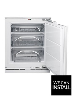 hotpoint-hza1-815cm-high-60cm-wide-integrated-under-counter-freezer-with-optional-installation
