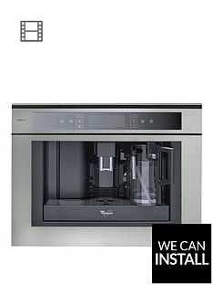 Whirlpool ACE102IXL 59.5cm Built-In Coffee Machine with Optional Installation - Stainless Steel