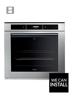 whirlpool-fusion-akzm694ixl-built-in-electric-single-oven-with-optional-installation-stainless-steel