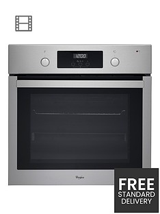 whirlpool-absolute-akp745ix-built-in-electric-single-oven-with-optional-installation-stainless-steel