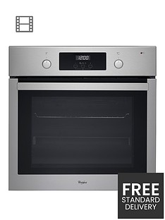 whirlpool-absolute-akp7460ix-built-in-electric-single-oven-with-optional-installation-stainless-steel
