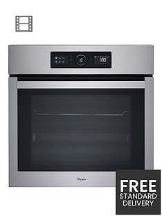 whirlpool-akz6220ix-built-in-electric-single-oven-with-optional-installation-stainless-steel