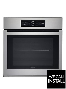 whirlpool-absolute-akz6270ix-built-in-electric-single-oven-with-optional-installation-stainless-steel