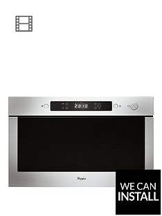 whirlpool-absolute-amw423ix-built-in-microwave-stainless-steel