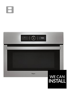 whirlpool-absolute-amw515ix-built-in-microwave-with-optional-installation-stainless-steel