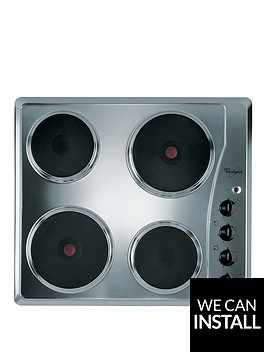 whirlpool-akm332ix-built-in-electric-hob-with-optional-installation-stainless-steel