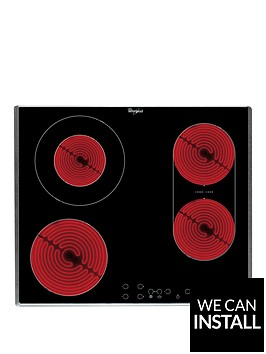 whirlpool-akt8700ix-built-in-ceramic-hob-with-optional-installation-black