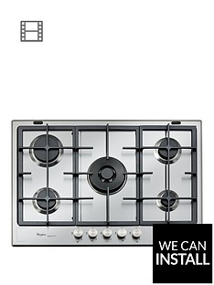 whirlpool-fusion-gmf7522ixl-built-in-gas-hob-with-optional-installation--nbspstainless-steel