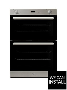 whirlpool-akw401ix-built-in-electric-double-oven-with-optional-installation-stainless-steel