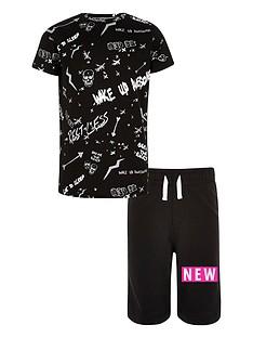 river-island-boys-039break-the-rules039-scribble-print-pyjamas