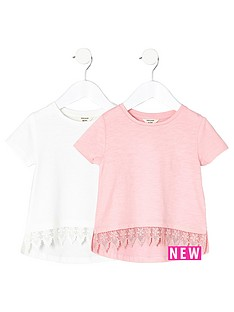 river-island-mini-girls-2-pack-crochet-t-shirts
