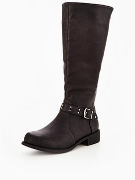 v-by-very-wonder-elastic-riding-boot-with-metal-trim-detail-black-standard-fit