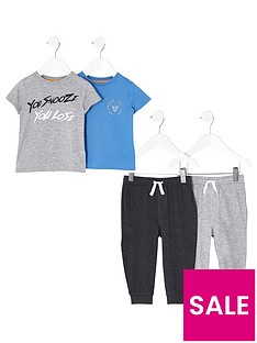 river-island-boys-grey-print-pyjama-multipack