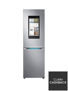 Samsung RB38M7998S4/EU Family Hub Fridge Freezer with 5 Year Samsung Parts and Labour Warranty -Stainless Steel