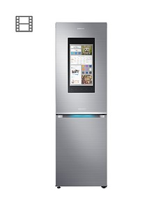 Samsung RB38M7998S4/EU Family Hub Fridge Freezer with 5 Year Samsung Parts and Labour Warranty - Stainless Steel