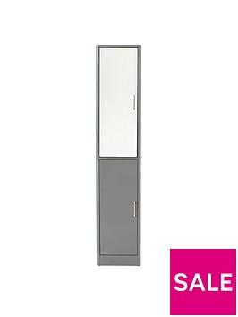 luna-2-door-mirrored-bathroom-tallboy-grey