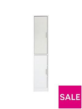 luna-2-door-mirrored-bathroom-tallboy-white