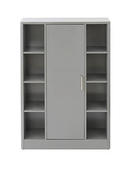 luna-high-gloss-bathroom-console-unit-grey