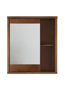 lloyd-pascal-westbaynbspsolid-wood-mirrored-bathroom-wall-cabinetnbsp