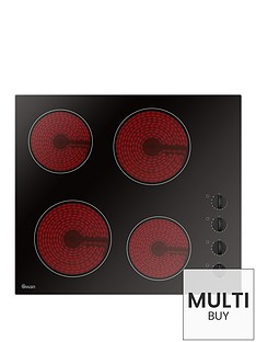 swan-sxb7050b-60cm-built-in-ceramic-hob-with-schott-glass