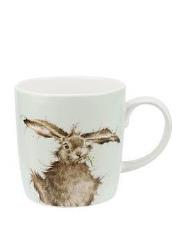 portmeirion-wrendale-hare-brained-single-mug