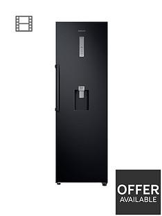 samsung-rr39m7340bceu-frost-free-tall-larder-fridge-with-non-plumbed-water-dispenser-black