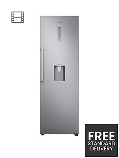 samsung-rr39m7340saeu-frost-free-fridge-with-non-plumbed-water-dispenser-and-5-year-samsung-parts-and-labour-warranty-silver