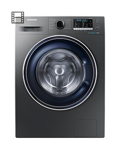 Samsung WW70J5355FX/EU 7kg Load, 1200 Spin Washing Machine with ecobubble™ Technology - Graphite