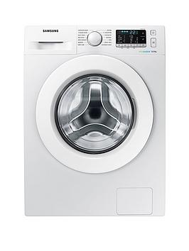 Samsung Ww80J5355Mw/Eu 8Kg Load, 1200 Spin Washing Machine With Ecobubble&Trade; Technology - White