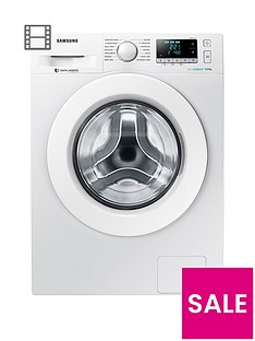 Samsung WW90J5456MW 9kg Load, 1400 Spin Washing Machine with ecobubble™ Technology - White