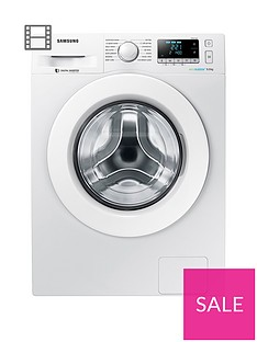 Samsung WW90J5456MW/EU 9kg Load, 1400 Spin Washing Machine with ecobubble™ Technology - White