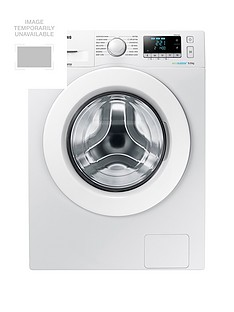 Samsung WW90J5456MW/EU 9kg Load, 1400 Spin Washing Machine with ecobubble™ Technology and 5 Year Samsung Parts and Labour Warranty - White