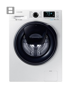 Samsung WW90K6610QW/EU 9kg Load, 1600 Spin AddWash Washing Machine with ecobubble™ Technology - White