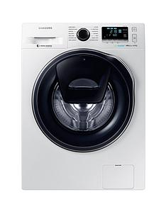 Samsung WW90K6610QW/EU 9kg Load, 1600 Spin AddWash Washing Machine with ecobubble™  Technology and 5 Year Samsung Parts and Labour Warranty - White