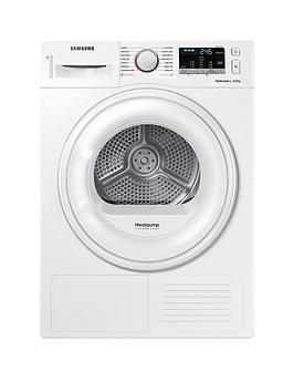 Samsung Dv80M50101W/Eu 8Kg Load Tumble Dryer With Heat Pump Technology - White