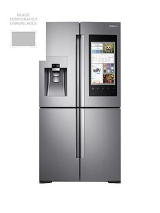 Samsung RF56M9540SR/EU Family Hub Multi-Door Fridge Freezer and 5 Year Samsung Parts and Labour Warranty - Stainless Steel Best Price, Cheapest Prices