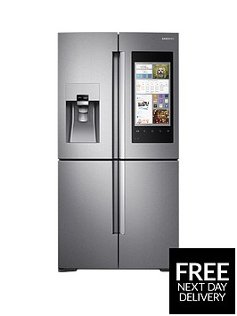 samsung-rf56m9540sreu-family-hub-multi-door-fridge-freezer-stainless-steel-5-year-samsung-parts-and-labour-warranty
