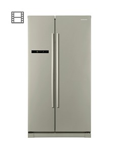 Samsung RSA1SHPN1/XEU Frost Free American Style Fridge Freezer with Digital Inverter Technology - Inox