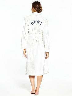 dkny-long-length-signature-robe