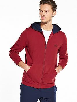 hugo-boss-lightweight-hooded-zip-lounge-top