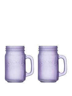 kilner-purple-frosted-jar-set-of-2