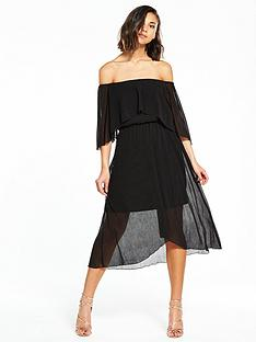 river-island-bardot-frill-midi-dress