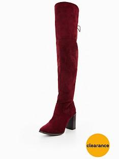 v-by-very-clara-block-heel-lace-up-back-otknbspbootnbsp