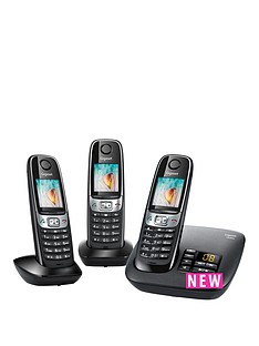 gigaset-gigaset-c620a-trio-cordless-phone-black