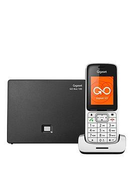 gigaset-gigaset-sl450a-go-single-cordless-phone-silver